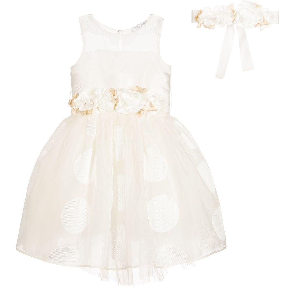 6978f6c1d649 stable quality cdf30 bda69 monnalisa baby girls ivory snowsuit ...