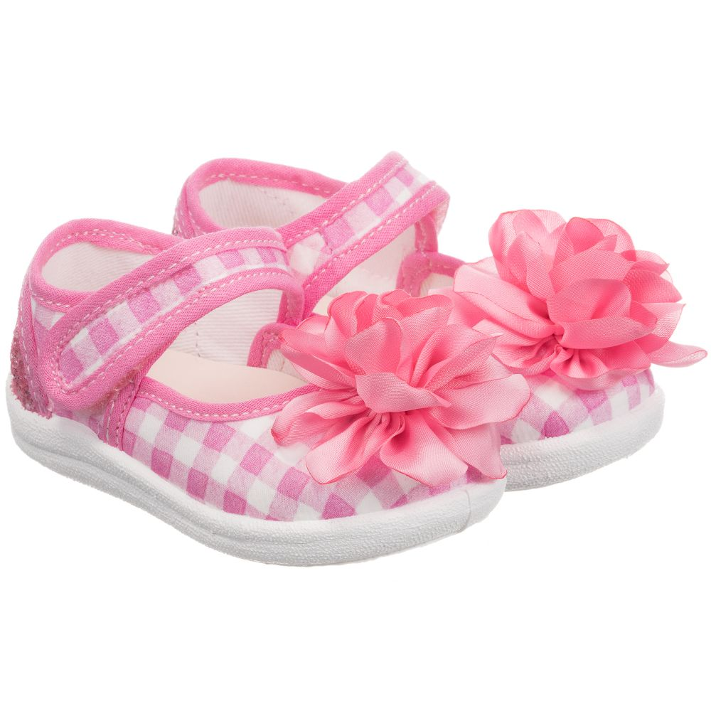 253802 Pink Outlet Number MonnalisaGirls Product Canvas Shoes Childrensalon CdexBo