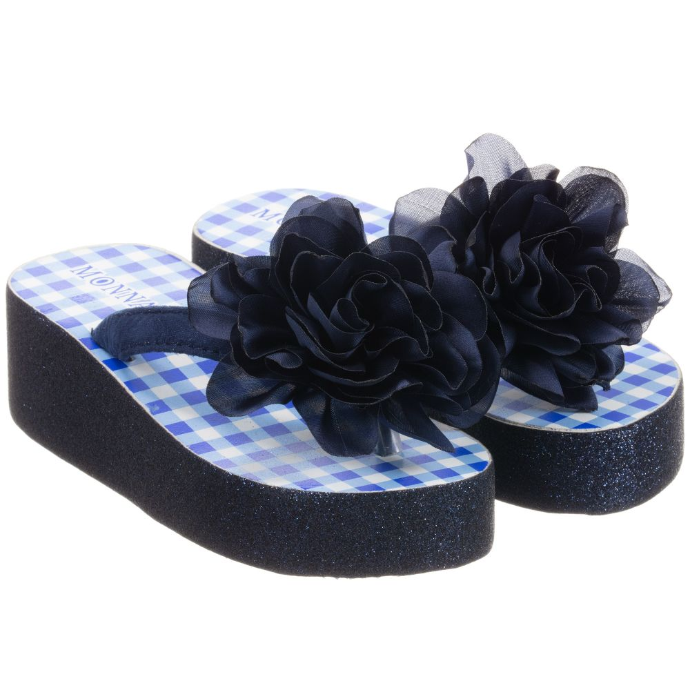 Platform Flip Childrensalon Number Outlet MonnalisaGlitter flops Product 253870 A4RjL35q