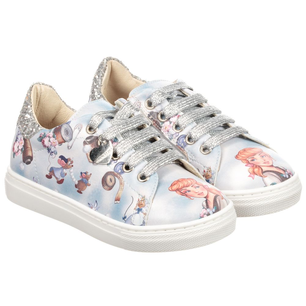 Outlet Trainers Blue Disney Childrensalon Product MonnalisaWhiteamp; Number 224580 uTlFJKc135