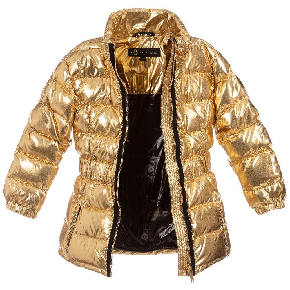 Moose Knuckles - Gold Down Padded Jacket Childrensalon Outle