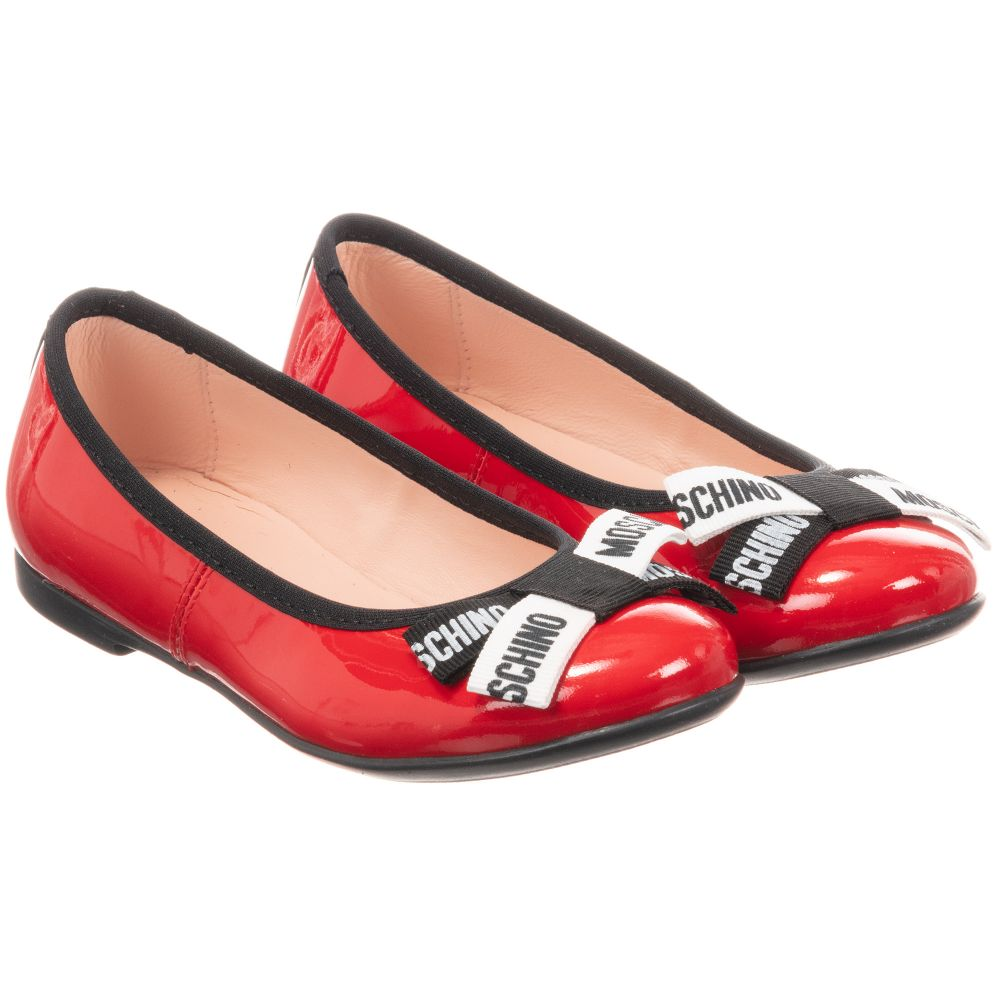 Moschino Kid-Teen - Red Patent Leather