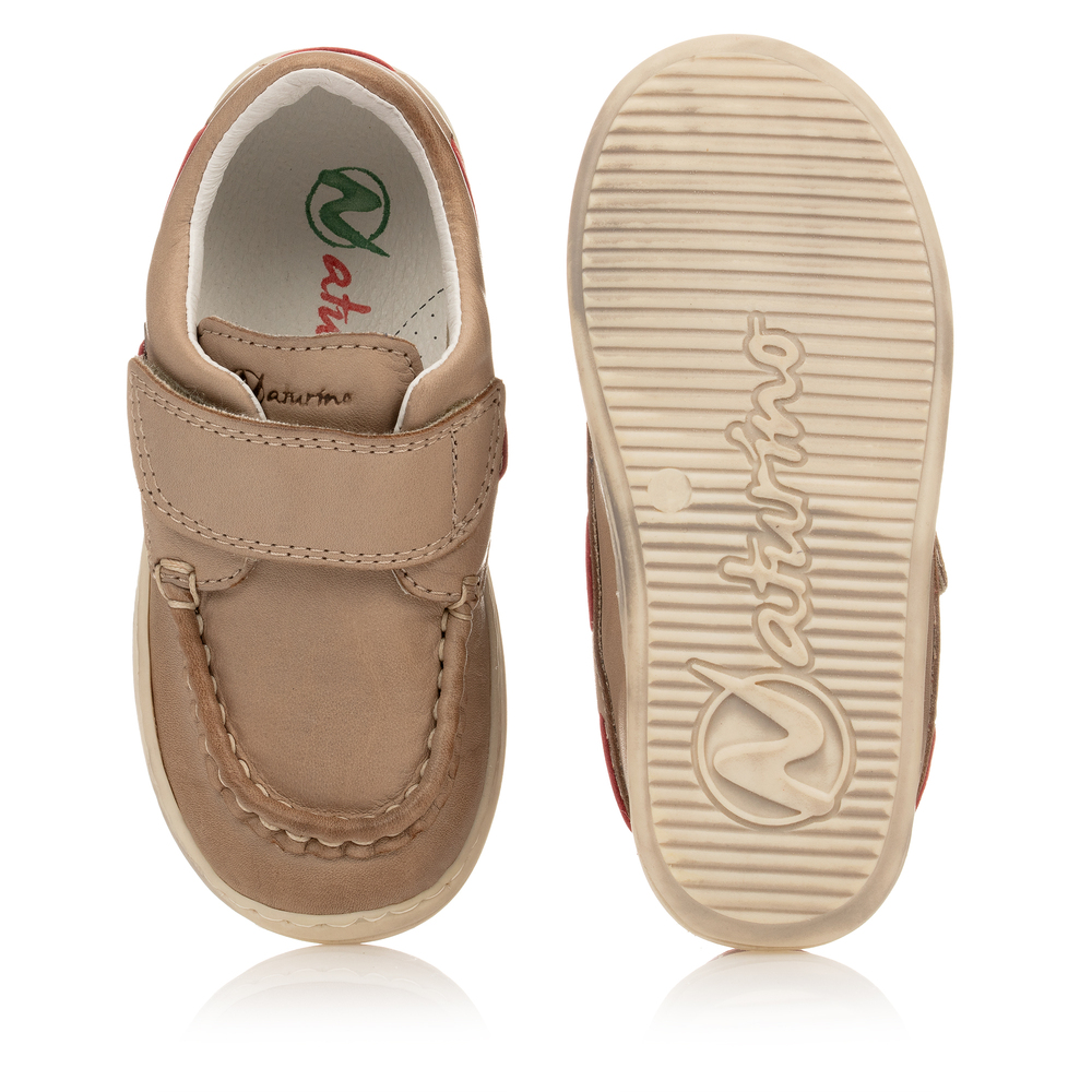 Naturino - Boys Beige Leather Shoes