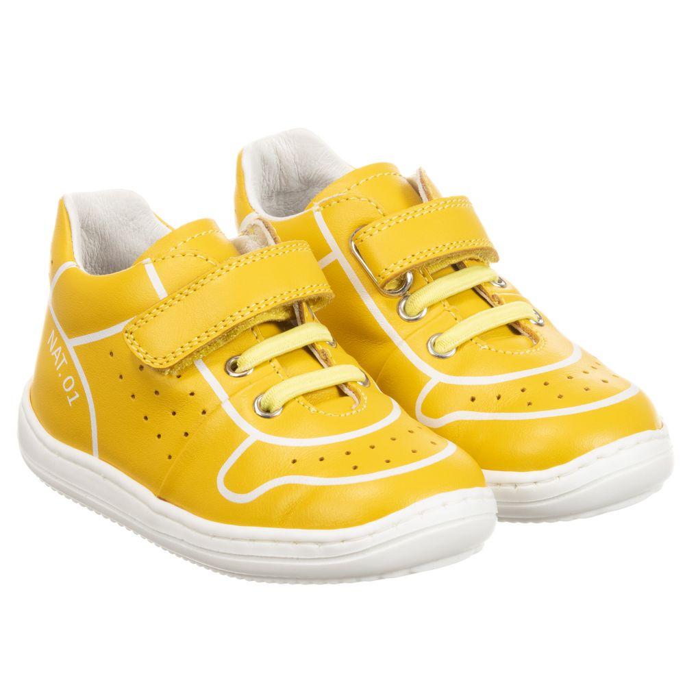 Naturino - Yellow Leather Trainers