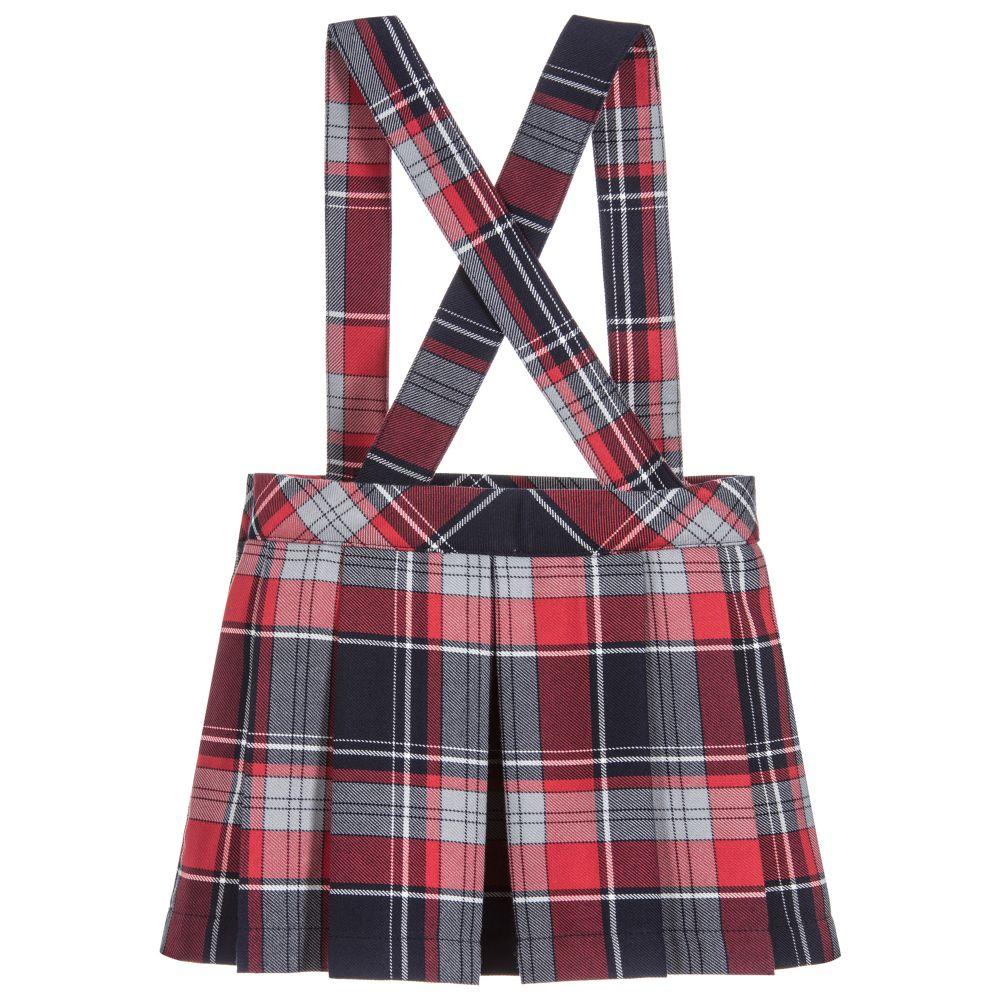4575018742 ... Patachou - Baby Girls Tartan Skirt | Childrensalon ...