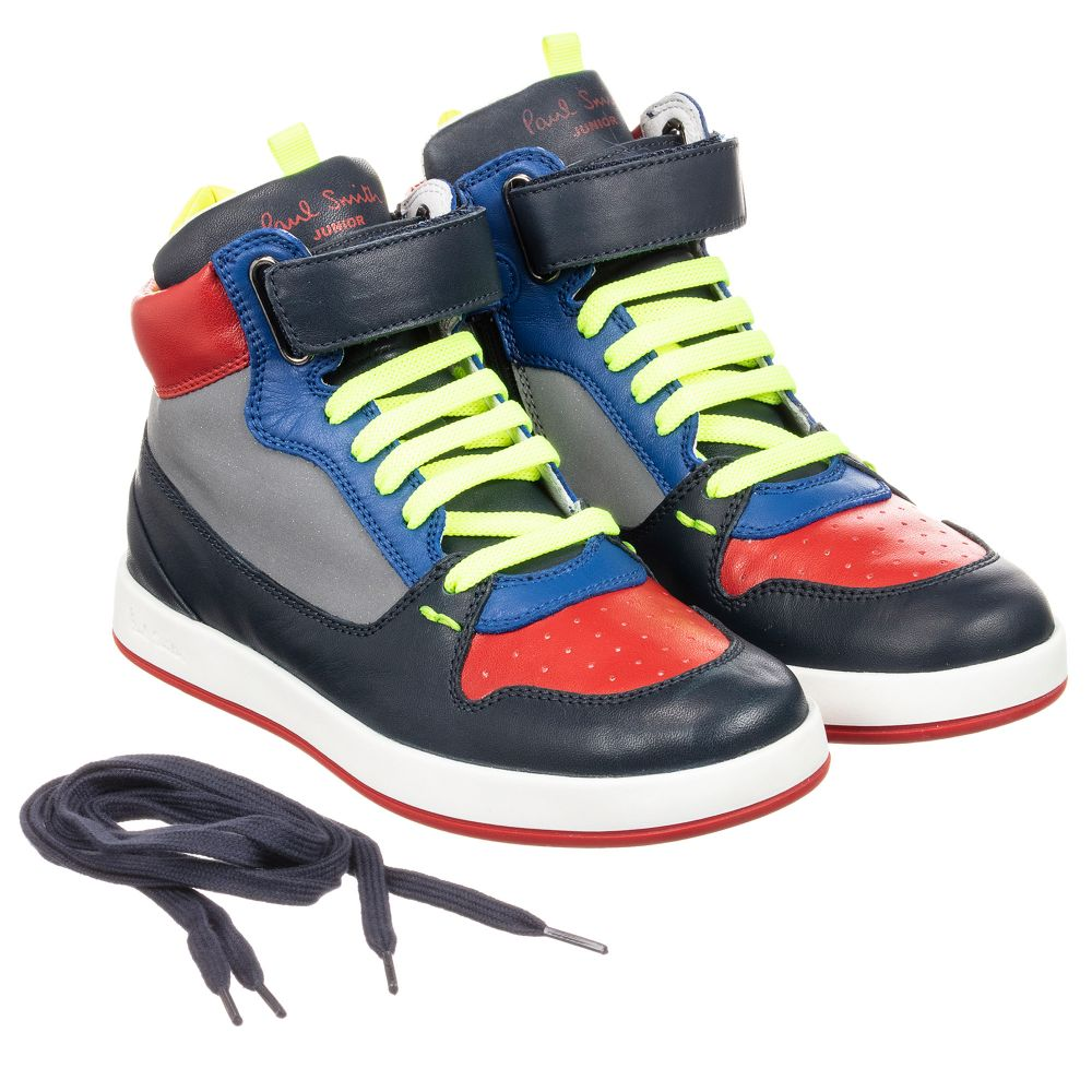 217966 Paul Trainers Smith Leather Gideon Number Product Childrensalon Outlet JuniorBoys deoxBC
