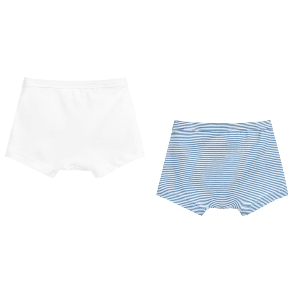 Toddler//Kid Petit Bateau Little Boys 2 Pack Boxers