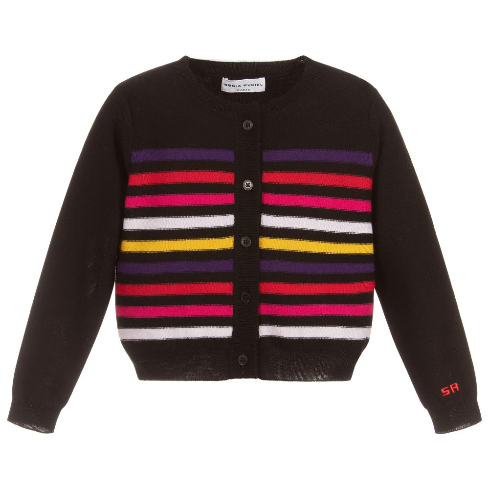 dcf85a4e2 Sonia Rykiel Paris - Girls Wool & Cashmere Cardigan | Childrensalon Outlet
