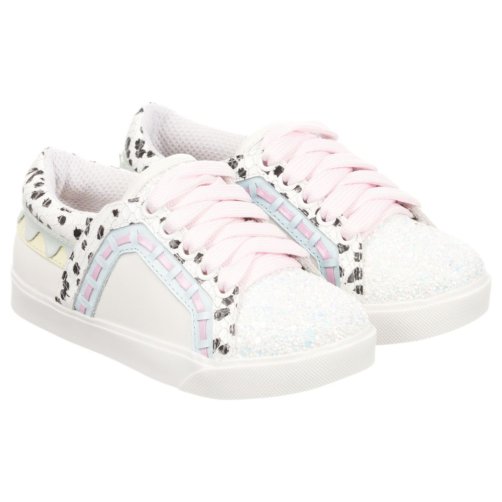 Trainers Leather Outlet Webster MiniWhite Number Sophia Childrensalon Product 241215 Riko QhdCrxts