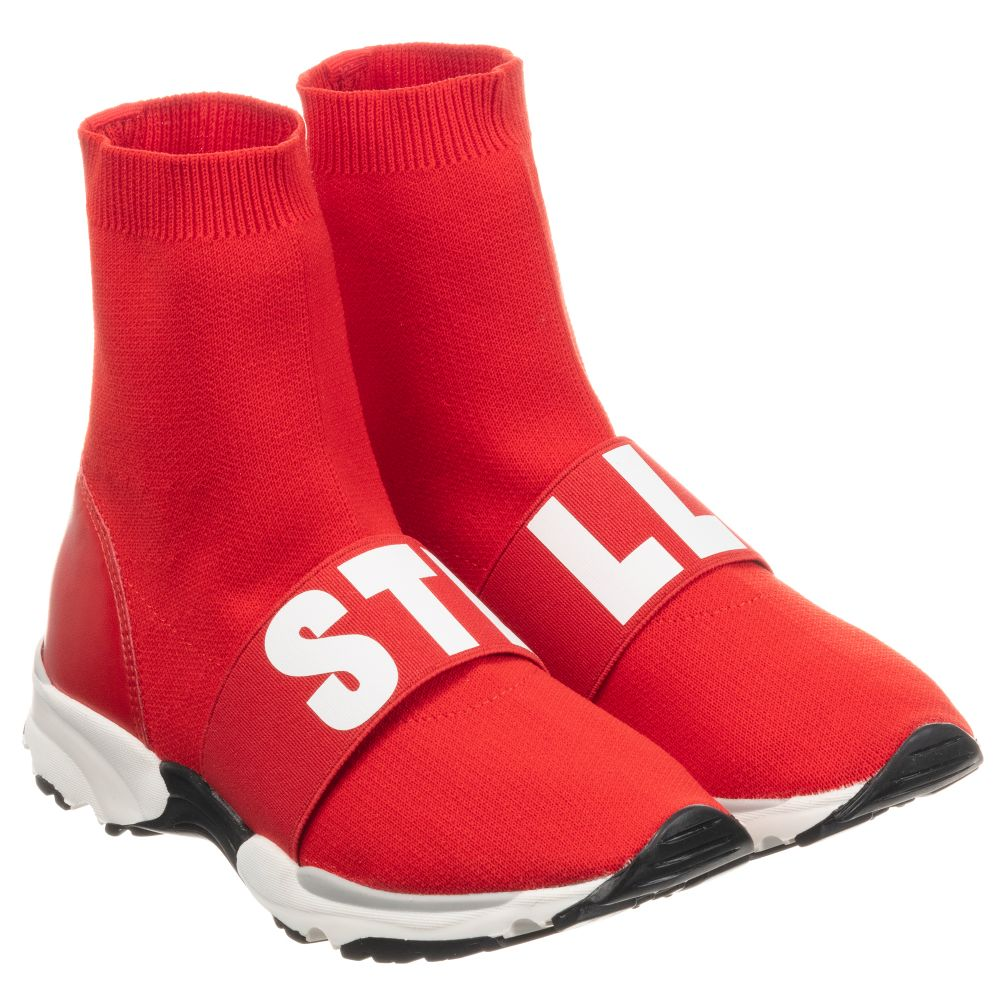 Stella McCartney Kids - Boys Red Sock