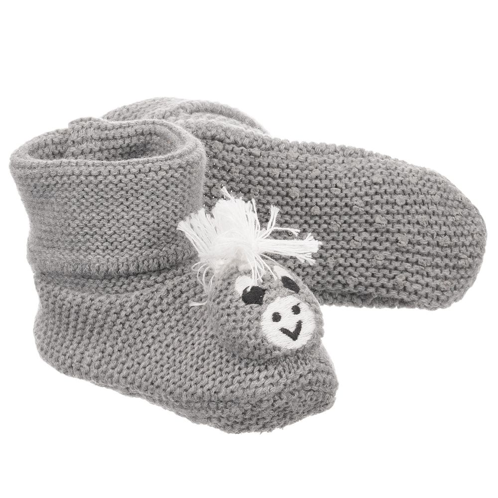 Booties Outlet Stella Number Mccartney KidsGrey Donkey Product 197624 Baby Childrensalon f76IYvbmgy
