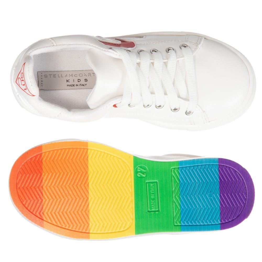 Stella McCartney Kids - White Rainbow