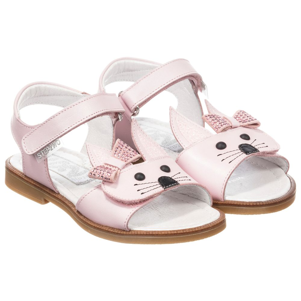 'rabbit' Leather Outlet Sandals Childrensalon Number 210870 Product Step2woGirls Fc3TKJ1ul