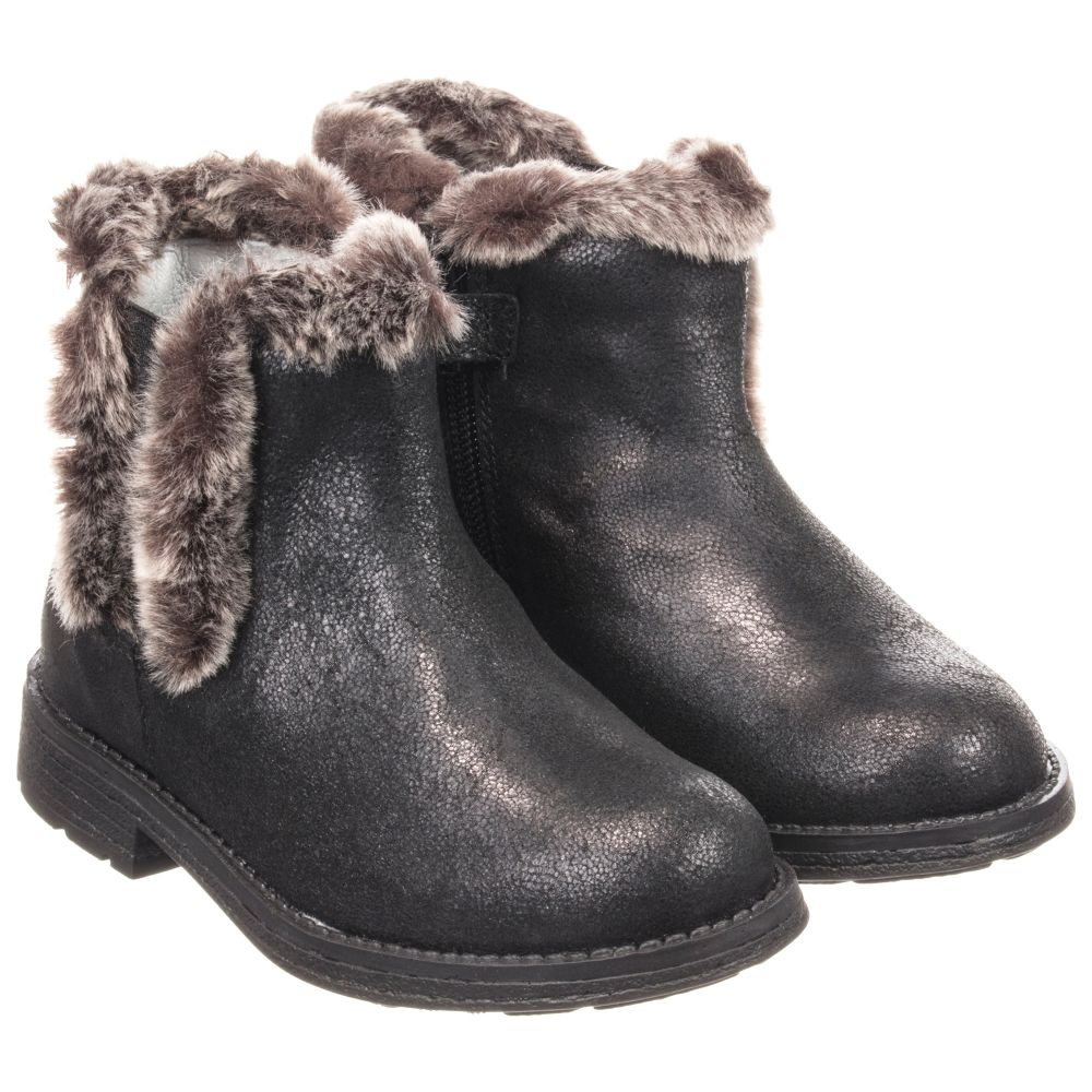 Leather Boots Childrensalon Stuart WeitzmanBlack Product 230660 Outlet Number Ankle SzMqLUGVp