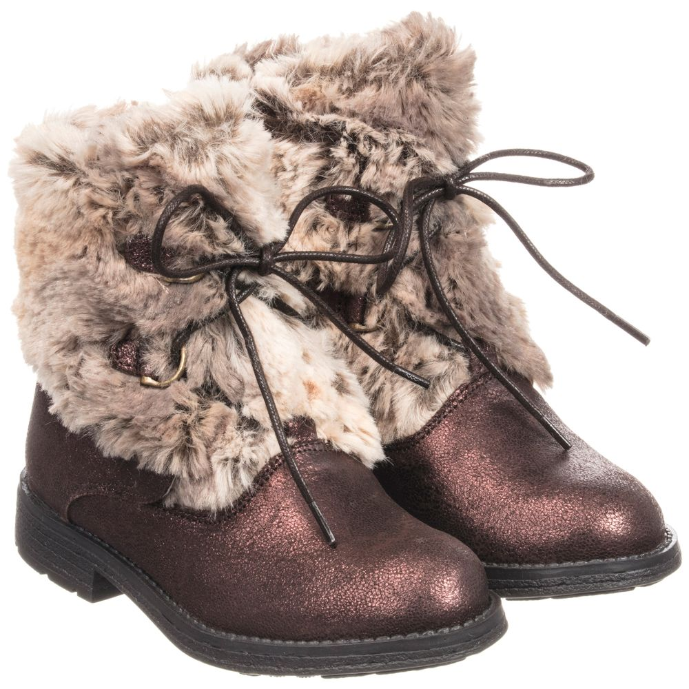 Childrensalon Outlet Fur Product Boots Faux Stuart 230659 WeitzmanLeatheramp; Number MGSqUzVp