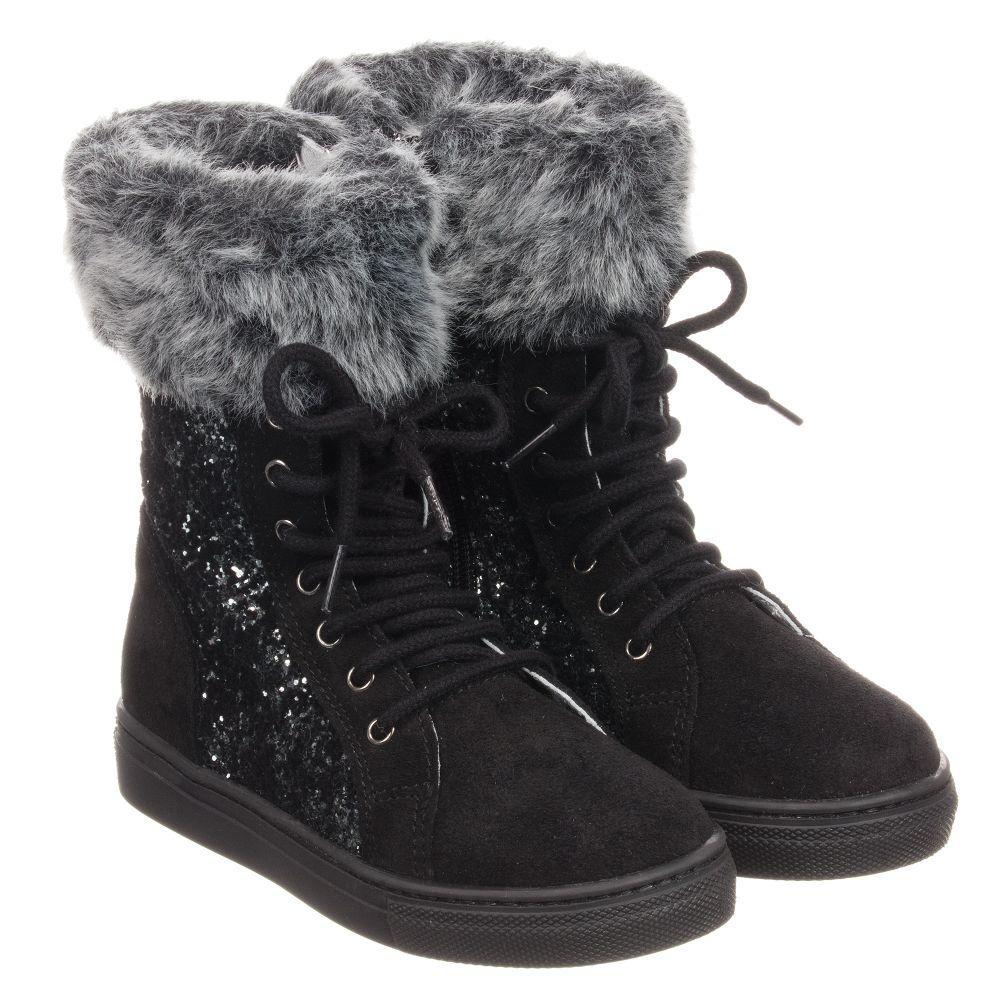 Stuart Fur Boots 230664 Product Childrensalon Number WeitzmanSuedeamp; Faux Outlet 5FKJc3uTl1