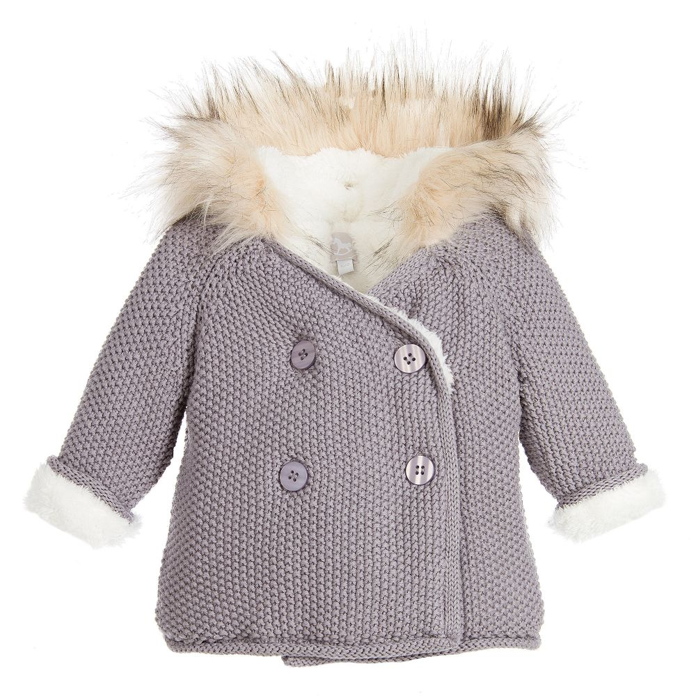 b113b3ded268 The Little Tailor - Baby Girls Cotton Knit PIXIE Jacket ...