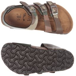 cc7e93894a6d8e Birkenstock - Boys Leather Camouflage Sandals