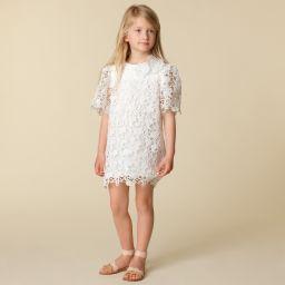 9c462e536d Chloé - White Guipure Lace Dress