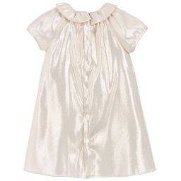 c5fc933e2 Gucci - Girls Gold Silk Dress | Childrensalon Outlet