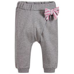 2d4485b143db iDO Mini - Girls Ivory   Grey Tracksuit