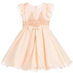 016188521 Lesy - Girls Pink Chiffon Dress