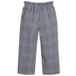 Chefs Trousers/Baggies Blue & White Check | Checked Chef