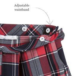b85f1d8019 Patachou - Baby Girls Tartan Skirt | Childrensalon Outlet