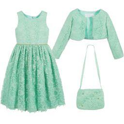 Romano Girls Shorts Green