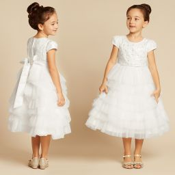 182c5afd45a2 Romano Princess - White Lace   Tulle Dress