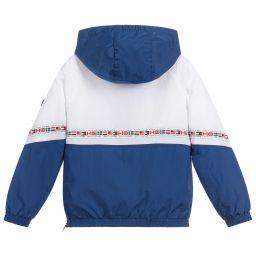 Tommy Hilfiger Boys Combi Mesh Hooded Jacket